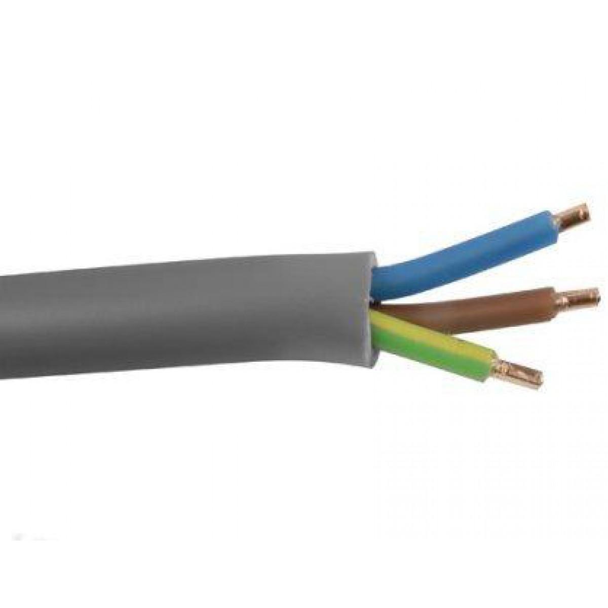 ymvk 3x2 5 mm dca installatiekabel kabel 100m. Black Bedroom Furniture Sets. Home Design Ideas