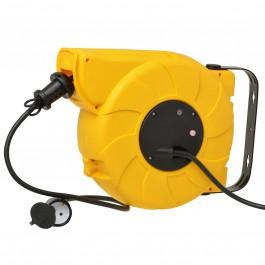 Automatische kabelhaspel 22m 3x1,5mm² Noepreen kabel - Wandhaspel
