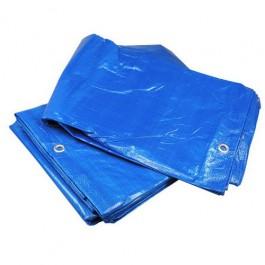 Bouwzeil / Afdekzeil 4x6 meter Blauw 75 gram / m2