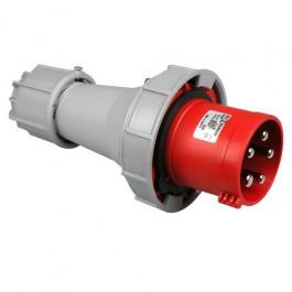 CEE stekker 63A 5-polig rood krachtstroom