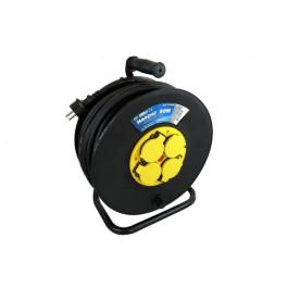 Kabelhaspel met 4 stopcontacten 3x1.5mm² 50m Neopreen H07RN-F