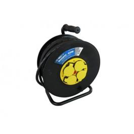 Kabelhaspel met 4 stopcontacten 3x2.5mm² 40m Neopreen H07RN-F