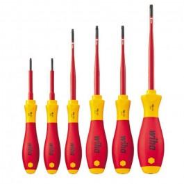 WIHA SoftFinish Electric slimFix TORX Schroevendraaierset 3251 K6, 6-delig