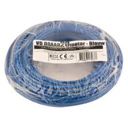 VD-draad blauw 2,5mm 20 meter rol