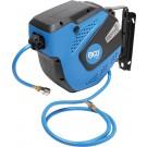 BGS 3297 Lucht Slangautomaat 10 meter 8mm 20 Bar