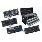 BGS 3318 Metalen gereedschapkoffer | 3 schuifladen | met 143 gereedschappen