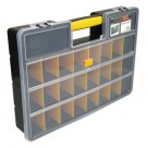 StockBox Kunststof opberg koffer 24 vakken