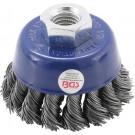 BGS 3980 Komborstel staaldraad   opname M14x2   Ø 65 mm