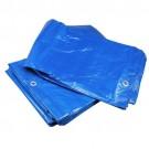 Bouwzeil / Afdekzeil 10x12 meter Blauw 75 gram / m2