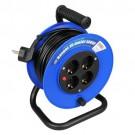 Kabelhaspel met 4 stopcontacten 3x1mm² 15m