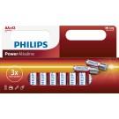 Philips PowerAlkaline 12x AA 1.5V Actiepack - Batterijen