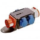 Schwabe CEE MIXO Adapter Brigach 400V 16A - Stroomverdeler