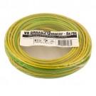 VD-draad geel/groen 2,5mm 20 meter rol